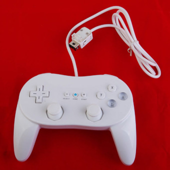 Controller Pro For Nintendo Wii Remote White