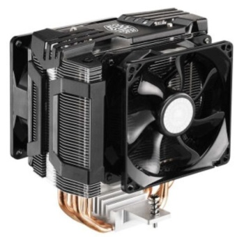 CoolerMaster Dual 9.2cm PWM Fans Four Heatpipes CPU Cooler HyperD92forLGA2011/2011-3/1366/1156/1155/1150/775/FM2+/FM2/FM1/AM3+/AM3/AM2+/AM2- intl Price Philippines