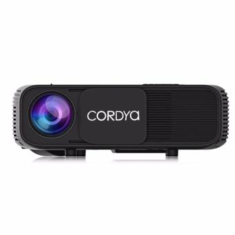 Cordya CL760 3200 Lumens HD LED Projector (Black) - 3