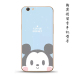 Couple's oppoa59/33f1s cartoon silicone men drop-resistant phone case
