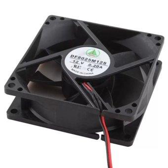 CPU Chasis Blower Fan 80mm (Black)