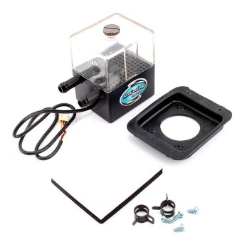 CPU Cooling System Water Pump With Tank (Black) (Intl)