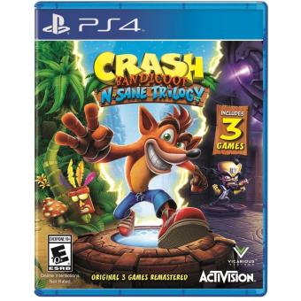 CRASH BANDICOT NSANE TRILOGY PS4 GAME R3,R1 MINT CONDITION Price Philippines
