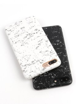 Creative Constellation Couple IMD Case Cover For iPhone 6/6s - intl