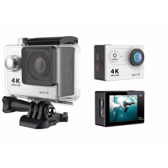 CT 4K 1080p Ultra HD DV 16MP WiFi Sports Action Camera (Silver)