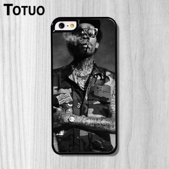 Custom Fashion For Apple iPhone 5C Case 4.0 Inch Design Singer WizKhalifa Pattern - intl Price Philippines