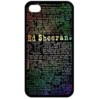 Customize Famous Singer Ed Sheeran Back Cover Case for iphone 6 4.7Protect Your Phone Designed by HnW Accessories - intl Price Philippines