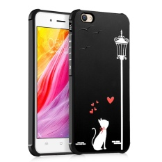 PHP 474. Cute Cartoon Animals Embossing 3D Relief Case Rugged Armor Shockproof Rubber Gel Soft Back Cover for VIVO ...