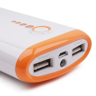 Cutie Y203 8400 mAh Powerbank (White/Orange)