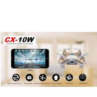 CX-10W Mobile Control Flying Camera 2.4G 4CH 6 Axis RC Quadcopter