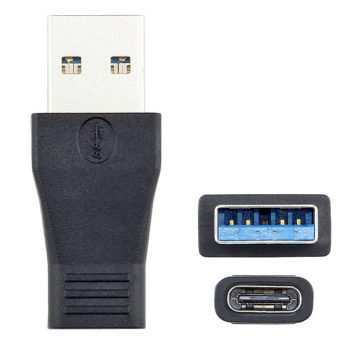 CY USB 3.1 Type C Female to USB 3.0 A Male Data Adapter - Black -intl