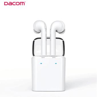 Dacom Original GF-7 TWS True Wireless Bluetooth Earbuds EarphonesDouble Twins Headset For IPhone/MI/Smartphone(White)