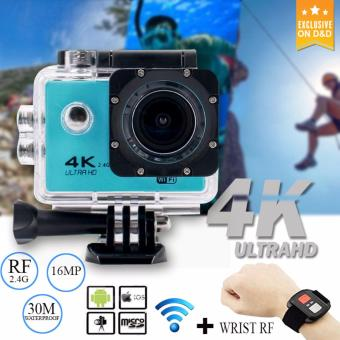 D&D 4K Sports Action Camera 16MP 2.4G Remote Controller CamUnderwater Waterproof Ultra HD Sport Camera Price Philippines