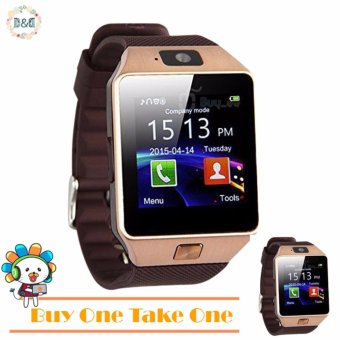 D&D DZ09 Bluetooth Touch Screen Smart Watch with Camera (BUY ONE TAKE ONE) Price Philippines