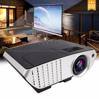 D&D RD-803 Lumens Multimedia LED Projector with HDMI/Video/VGAslot (Black) Price Philippines