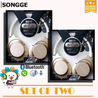 D&D SONGGE SH15 Wireless Headphones High Definition Sound MoreComfortable SET OF TWO Price Philippines