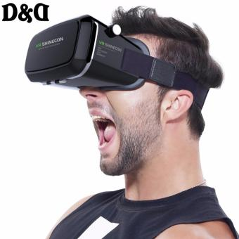 D&D VR Box Shinecon Virtual Reality Mobile Phone 3D Glasses(Black) Price Philippines
