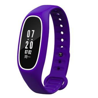 DB01 Heart Rate Blood Pressure Monitor Bracelet Bluetooth FitnessTracker IP68 WaterProof OLED 0.91 inch Smart Wristband