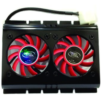 Deep Cool Ice Disk 2 HD Cooler (Red)