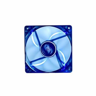 Deepcool Fan Wind Blade 120 Case Fan Hydro 3Pin Molex 26Db 1300Rpm (Transparent Black Frame/Blue Led)
