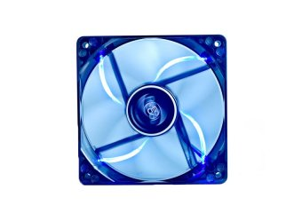 DeepCool Fan Wind Blade 80 Case Fan Hydro 3Pin Molex 20db 1000rpm(Transparent Black Frame/Blue LED)