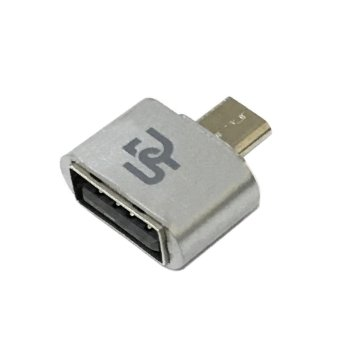 Digistore Micro USB to USB OTG Mini Adapter (Silver)