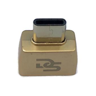 Digistore Type C to USB 3.1 OTG Mini Adapter (Gold)