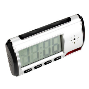 Digital Alarm Clock Hidden Surveillance Nanny Camera Video DVR Recorder Price Philippines