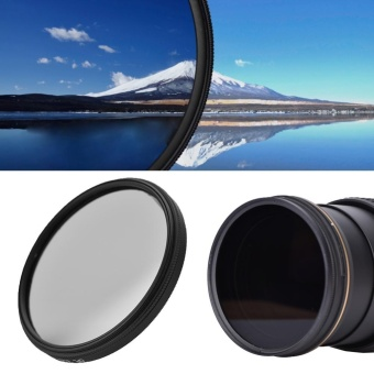 Digital Circular Polarizing CPL Threaded Universal Filter (62mm) -intl Price Philippines