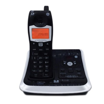 Digital Cordless Wireless Telephone With Call ID Answer System Backlit Landline Phone For Office Home Bussiness - intl