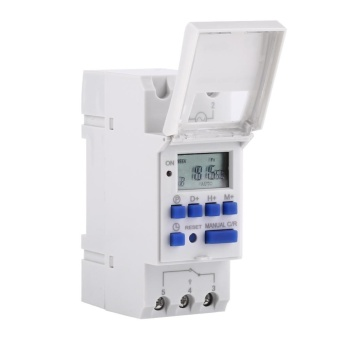 Digital Time Switch Weekly Programmable Electronic Timer (AC/DC12V) - intl