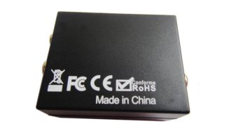 Digital Toslink Optical SPDIF Coaxial to Analog RCA Audio Converter Adapter - 4
