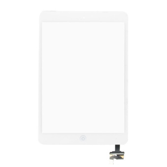 Digitizer Touch Screen Assembly for iPad mini (White) - 2
