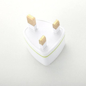 Diotem Universal US EU AU Converter to UK HK AC Travel Power PlugCharger Adapter White - intl - 3