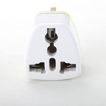 Diotem Universal US EU AU Converter to UK HK AC Travel Power PlugCharger Adapter White - intl - 5
