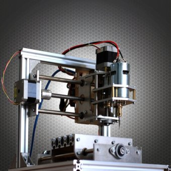 DIY 3 Axis Engraver Machine PCB Milling Wood Carving Engraving Router Kit CNC New - intl