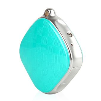 DMDG Wearable Mini Precision GPS Locator Tracker - Blue + Silver - intl - 4