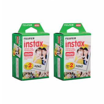 DNJ Fujifilm Instax Mini plain film Twinpack set of 2 (40 sheets)