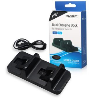 DOBE Dual Charging Dock for PlayStation 4 Wireless ControllerTP4-002