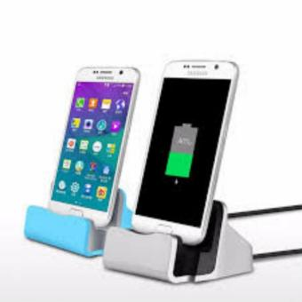 Dock Charger Stand for Android Smart Phones (silver)