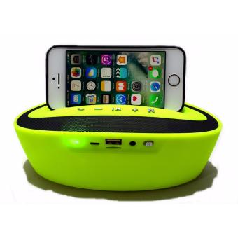 Dock wireless Portable Bluetooth Speaker with usb/sd/aux input