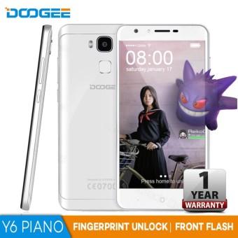 """Doogee Y6 Piano 5.5"""" inch 4GB RAM 64GB ROM Octa Core 1.5GHz (White)"""