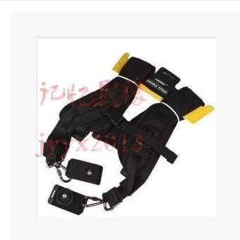 Double machine professional SLR camera shoulder back shoulder strap
