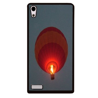 Dream Catcher Pattern Phone Case for Huawei Ascend P6 (Black)