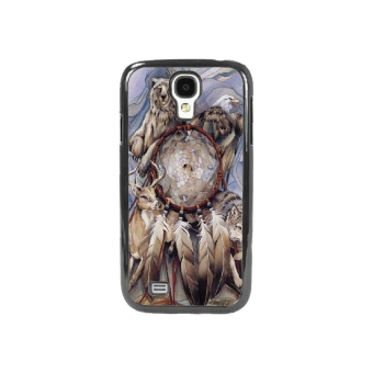 Dream Catcher Pattern Phone Case for Samsung Galaxy S4(Black) - picture 2