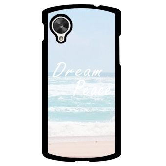 Dream Peace Pattern Phone Case for LG Nexus 5 (Black)