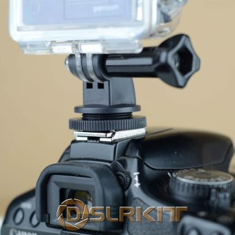 DSLR Hot Shoe Mount Adapter For GoPro HERO 4 3+ 3 2 1 - intl Price Philippines