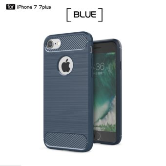 DTD Luxury Hybrid Shockproof Carbon Fiber Texture Brushed Soft TPUSilicon Case For iPhone7 Plus 5.5inch Bumper Back Cover Price Philippines