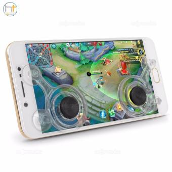 Dual Analog Joystick Controller for Smartphone (Clear)