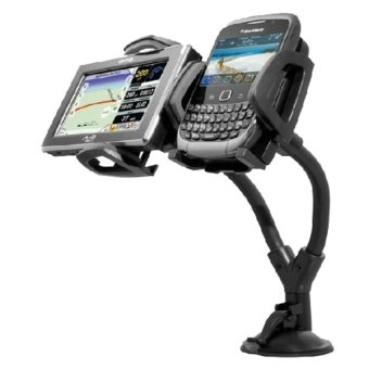 Dual Car holder for cellphone smartphone GPS